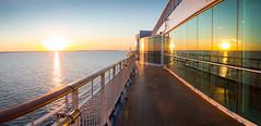 Aalands Hav Sunrise seen onboard M/S Birka (Stefan Sjogren) Tags: birka cruises stockholm archipelago sunrise baltic finland deck blue ship vessel ferry cruise waves europe sweden scandinavia