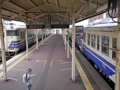 Bye-bye (しまむー) Tags: panasonic lumix gx1 g 20mm f17 asph natural train tsugaru free pass 津軽フリーパス