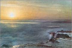 A New Dawn DSC_4239 (BlueberryAsh) Tags: fffplus torquay beach seascape sunrise light glow morningglow textures longexposure leefilter ocean water cloudsstormssunsetssunrises rocks coast nikond750 nikon24120