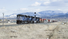 Welcome To Helena (DJ Witty) Tags: montanaraillink mrl freight train nikon d610 photography mt sd70ace