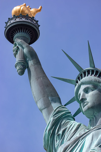From flickr.com: Statue of Liberty from Liberty Island {MID-300527}