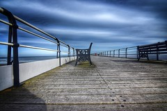 Saltburn (Baz 3112) Tags: foranyonewhosinterested 500px hdr hdrcollection hdrgallery hdrphoto hdrphotography perspective pier sky skyporn skyline