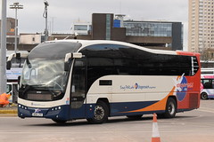 SF 53707 @ Glasgow Buchanan Street bus station (ianjpoole) Tags: stagecoach fife volvo b9r plaxton elite ae10jto 53707 glasgow buchanan street bus station