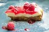 New York Cheesecake (raffaella.rinaldi) Tags: cook cooking homemade coulis raspberries cheese cheesecake sweet red food macro
