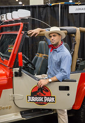 Dr. Grant, Jurassic Park (irrational.photography) Tags: cos play cosplay anime japan comic book comicbook convention costume movie tv show dress up mascarade masquerade