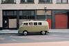 (el zopilote) Tags: portland oregon cityscape architecture street wheels volkswagen vw van kombi signs people canon ftbn 35mm canonfd35mmf35sc kodak ektar film135
