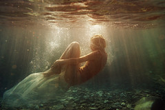 E. (georgekamelakis) Tags: georgekamelakis greece greek girl sun sea woman model underwater cinematic dicapac nikon emotive print faceless color