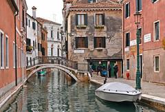 venice corners (poludziber1) Tags: street venice venezia italy italia city colorful water