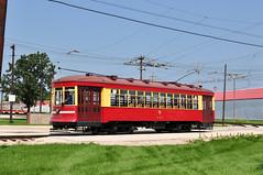 Illinois Ry Museum #3142 (Jim Strain) Tags: jmstrain railroad railway trolley tram streetcar irm illinois museum union cta chicagotransit csl