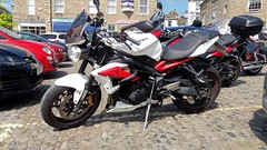 Grassington & Burnsall 27.5.2018 (1) (bebopalieuday) Tags: yorkshiredales upperwharfedale grassington thesquare triumph streettripler 675 2013 motorbike motorcycle britishbike northyorkshire
