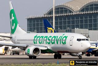Boeing B737 Transavia PH-HXE