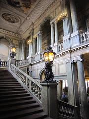 Royal Palace of Stockholm (Christine G. H. Franck) Tags: royalpalaceofstockholm kungligaslottet nicodemustessintheyounger carlhårleman sweden stockholm stairhall lighting