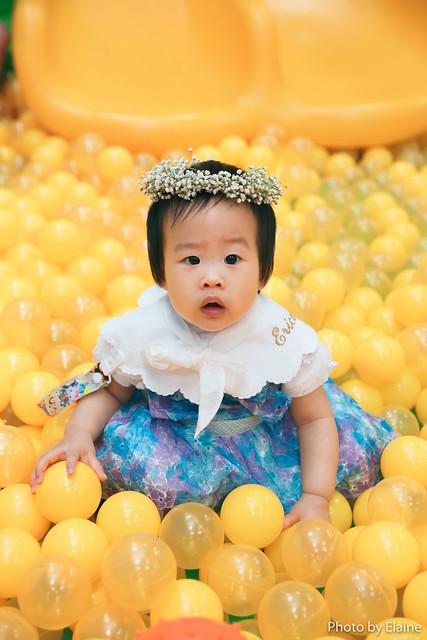 童心親子空間週歲寶寶生日派對