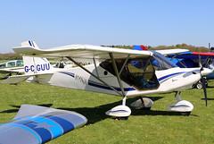 G-CGUU_02 (GH@BHD) Tags: gcguu bestoffskyrangernynja912s bestoff skyranger skyrangernynja912s skyrangernynja pophammicrolighttradefair2018 pophamairfield popham microlight aircraft aviation