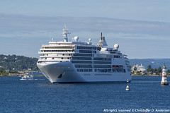 Silver Spirit (5) (Christoffer Andersen) Tags: silverseacruises silverspirit portofoslo oslo oslofjorden cruiseship cruise luxuryliner passengership shipspotting