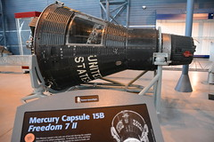 NASM_0085 McDonnell Mercury capsule 15B Freedom 7 II (kurtsj00) Tags: nationalairandspacemuseum nasm smithsonian udvarhazy mcdonnell mercury capsule 15b freedom 7 ii