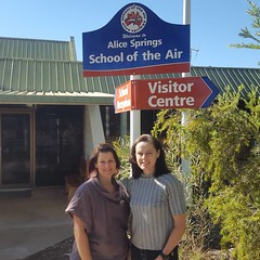 At the Alice Springs School of the Air