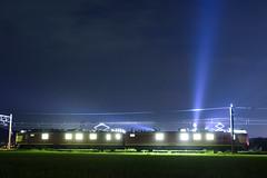 night mission (__nEUROn__) Tags: railway train jr西日本 クモヤ443