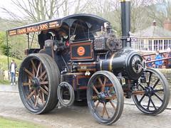 "McLaren Road Locomotive 1110 ""Big Mac"" (Terry Pinnegar Photography) Tags: beamish museum countydurham steam vintage traction engine cobbles mclaren roadlocomotive bigmac bf5258 1110"