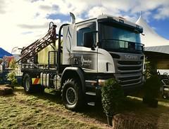 All wheel-drive Scania P400 (SemmyTrailer) Tags: brosnahan agri spray scania p400 4x4 truck lorry