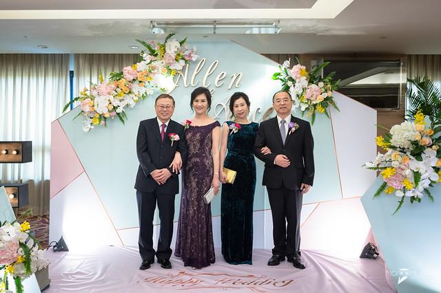 Allen&Alice-台南大億麗緻宴客-婚禮記錄-14