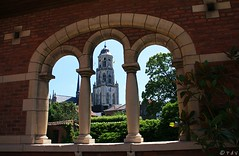 Sint-Gummarus Church (Peter De Vos69) Tags: sintgummarus church tower toren sky religion lier belgium history window wall