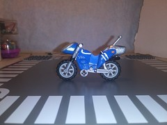 kamen rider super 1's blue version left (teamfourstud) Tags: kamen rider super 1 one kazuya oki v machine showa jet machines lego custom riders blue version