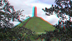 De Pyramide van Austerlitz 3D (wim hoppenbrouwers) Tags: depyramidevanausterlitz 3d anaglyph stereo redcyan marmont napoleon