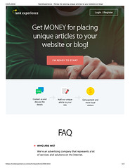 Get MONEY for placing unique articles to your website or blog! (unkautomobile) Tags: semalt seo marketing tips