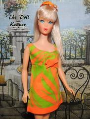 1967 Vintage Mod TNT Silver Ash Barbie (The doll keeper) Tags: 1967 vintage mod tnt silver barbie doll two way tiger