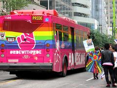 #RideWithPride (Georgie_grrl) Tags: dykemarch2018 toronto ontario pride happypride lgbtq celebration community family loveislove canonpowershotg15