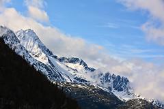 High in color (Carlos A. Aviles) Tags: mountain montañas cielo sky clouds nubes alaska skagway snow nieve nevado color trip viaje vacations vacaciones landscape paisaje