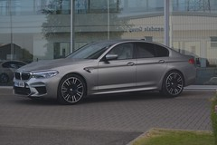 BMW M5 (CA Photography2012) Tags: fv18avx bmw m5 saloon sedan 2018 model g30 f90 grey supercar v8 german qcar m sport division launch edition new stealth 5 series 5series 5er ca photography automotive exotic car spotting