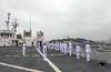 "Service members assigned to USNS Mercy man the rails as the ship enters Yokosuka Naval Base (#PACOM) Tags: pacificpartnershippacificpartnership2018pp18partnership rm689 yokosuka japan ""usindopacificcommand usindopacom"" atsea xs"