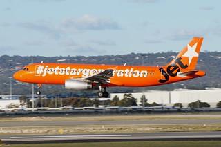 VH-VGF Jetstar Australia  Airbus A320-232