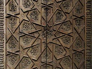 Detail of a tabernacle door - Spain, ca. 1450-1500