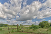 View (Maggggie) Tags: sky takeaim clouds afternoon farm fence trees green explored