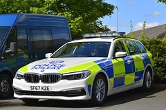 SF67 KZE (S11 AUN) Tags: police scotland bmw 530d xdrive estate touring anpr video traffic car rpu trpg trunkroadspatrolgroup roads policing unit 999 emergency vehicle cdivision sf67kze