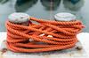 23 Synthetic (manxmaid2000) Tags: orange rope boat tied harbour knot mooring bollard nylon sea quay porterin isleofman poly fasten secure hemp bright