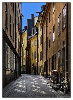 Side Street in Stockholm
