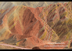 Vivid colorful sandstone at Zhangye Danxia Landform Geological Park, Gansu, China (jitenshaman) Tags: travel worldtravel destination destinations china chinese zhangyedanxialandformgeologicalpark danxia danxialandform landform danxiasceniclandform danxiageologicalpark rainbowmountains rainbow landscape landscapes scenic scenery sandstone rock rocks color colors colour colours colorful colourful geology geological gansu zhangye danxialandforms palette outdoors wonderful wonder nature natural tourism touristattraction