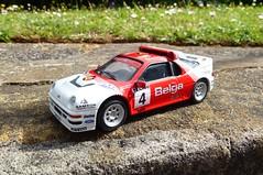 1/43 Ford RS200 (thebigmacmoomin) Tags: 143 diecast modified custom code3 ford rs200 rally groupb belga bouclesdespa