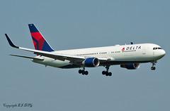 Boeing 767-332ER N186DN Delta (EI-DTG) Tags: planespotting aircraftspotting londonairport londonheathrow lhr 22may2018 boeing b767 boeing767 n186dn delta