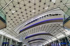 Starship - Hongkong 160/188 (*Capture the Moment*) Tags: 2017 airport architecture architektur cheklapkok hongkong hongkonginternationalairport midfieldconcourse sonya7m2 sonya7mark2 sonya7ii sonyfe1635mmf4zaoss sonyfe41635 sonyilce7m2