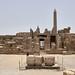 Patio Central del Templo de Amón en el Complejo de Karnak, Luxor, Egipto