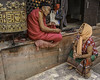 Life's Little Secrets (Steve Mitchell Gallery) Tags: people elder elders wisdom secrets communicate speak speaking advise share katmandu nepal street