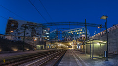 Hyllie Station, Malmö (s_p_o_c) Tags: arkitekt arkitektur architect architecture metroarkitekter hylliestation hyllie malmö skåne sverige sweden citytunneln citytunnel järnvägsstation railwaystation clear