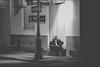 Night Conversations in Nola (DarrenCowley) Tags: frenchquarter neworleans conversation night corner streetphotography urban louisiana streetsign lamplight