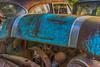 _DSC3491 Pontiac (Charles Bonham) Tags: auto hillardsautosalvage autosalvage car junkyard antique hdr shepardmi patina foliage rust paint deteriorate sonya7r sonyzeiss55mmf18 charlesbonhamphotography pontiac