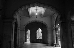 Ancient Architecture (ainulislam) Tags: ancient archi architecture dhaka dhakagram dhakauniversity tsc shahbag karzon hall lobby structure urban urbanart bnw blackandwhite black white retro drama serene silent calm peace